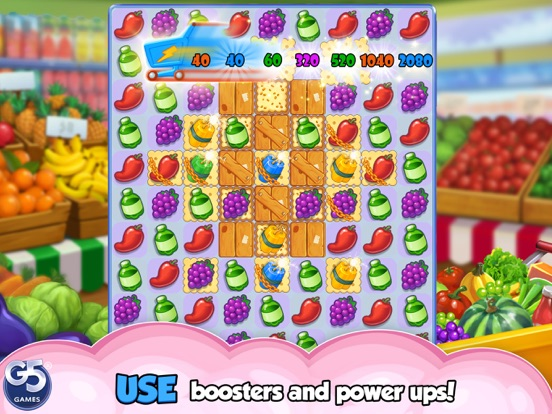 Supermarket Mania - Match 3 screenshot 7