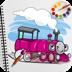 20.Train Coloring Book Games