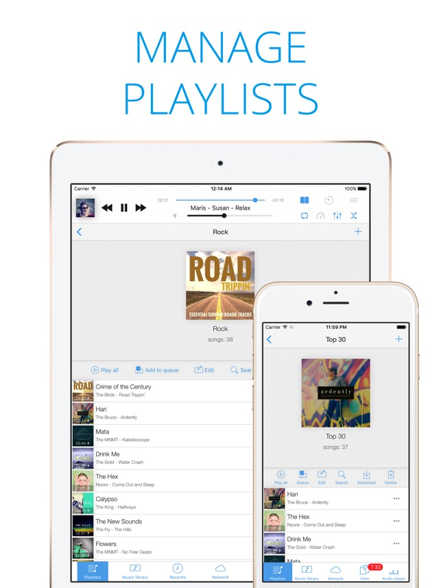 Musicbox: player for Dropbox on the App Store
