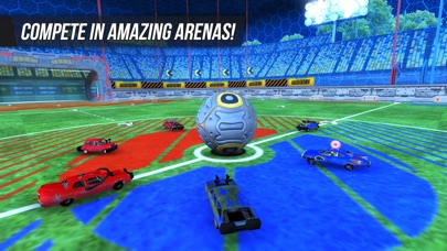 Rocket Soccer Derby Screenshot