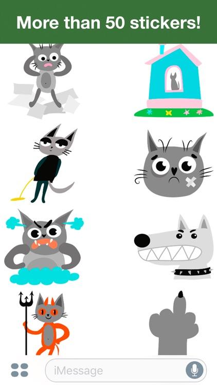 Cats - Cute stickers screenshot-4