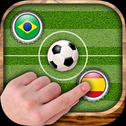 Soccer cap - Score goals with the finger