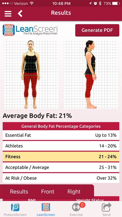 LeanScreen: Body Fat Analysis screenshot-0