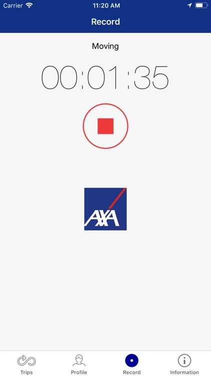 AXA Drivesave screenshot-3