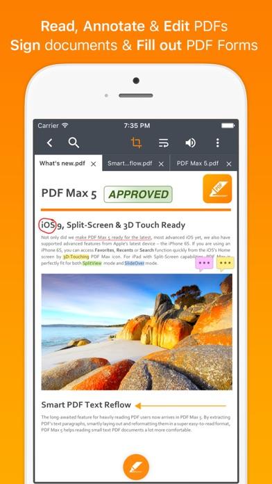 Screenshot #1 pour PDF Max Pro - #1 PDF app!