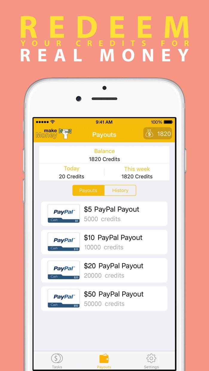 Make Money - Earn Easy Cash Screenshot