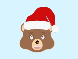 Holiday Emoji Bear