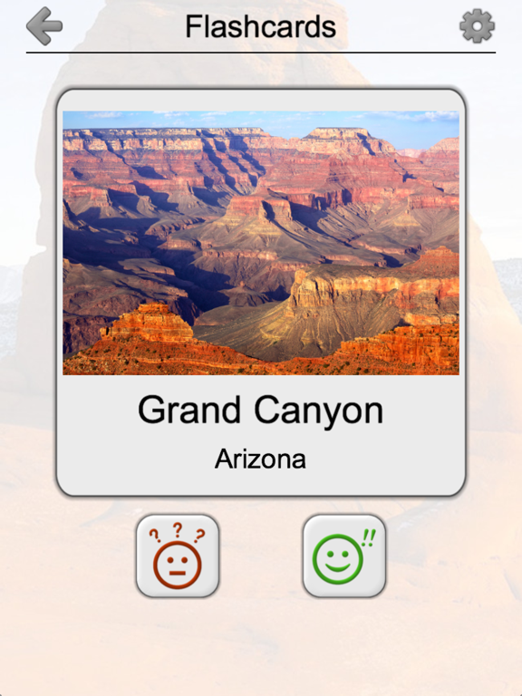 National Parks of the US: Quiz Screenshots