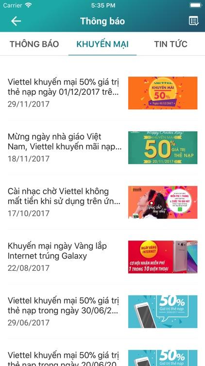 My Viettel - Đơn giản tiện ích screenshot-4
