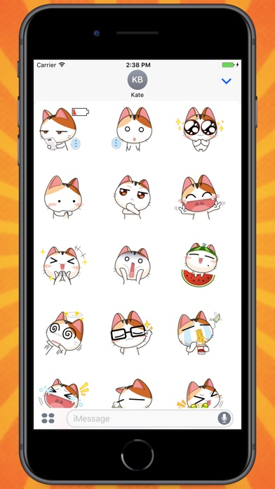 Screenshot for Kitty From Japan Stickers in Colombia App Store