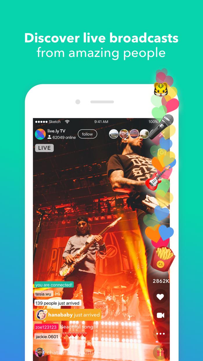 live.ly Screenshot