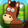 Fun with animals puzzle for kids and toddlers