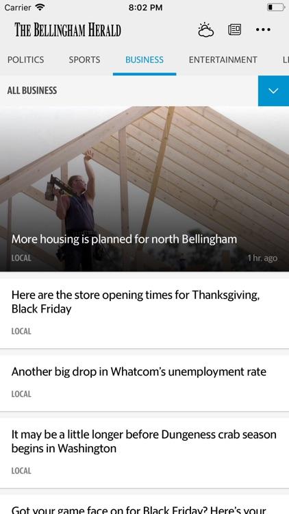 The Bellingham Herald News screenshot-4