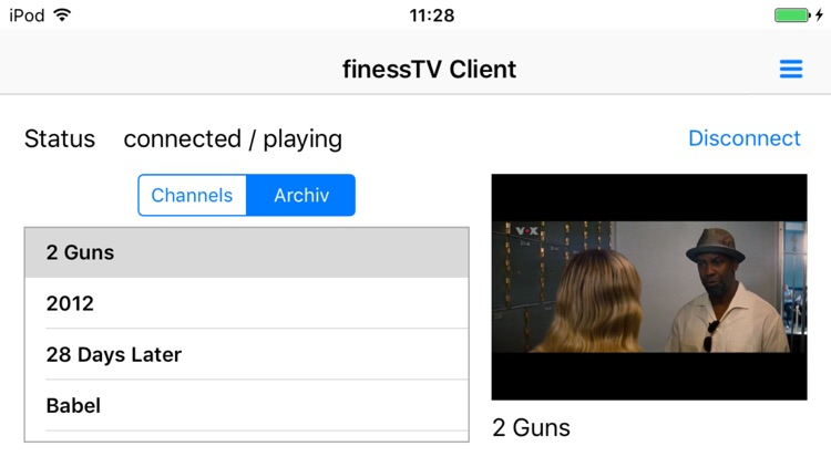 finessTV Client