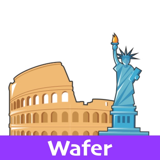 Monument Stickers (Wafer)