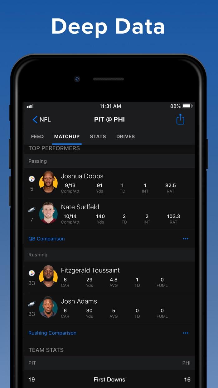 theScore: Sports News & Scores Screenshot