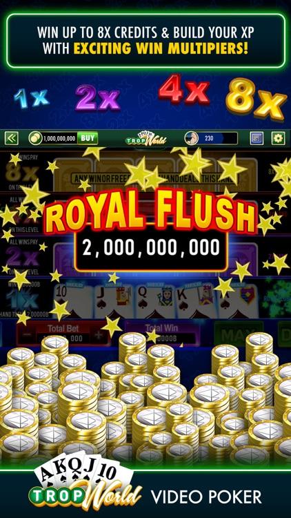 TropWorld Video Poker screenshot-3