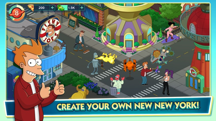 Futurama: Worlds of Tomorrow screenshot-0