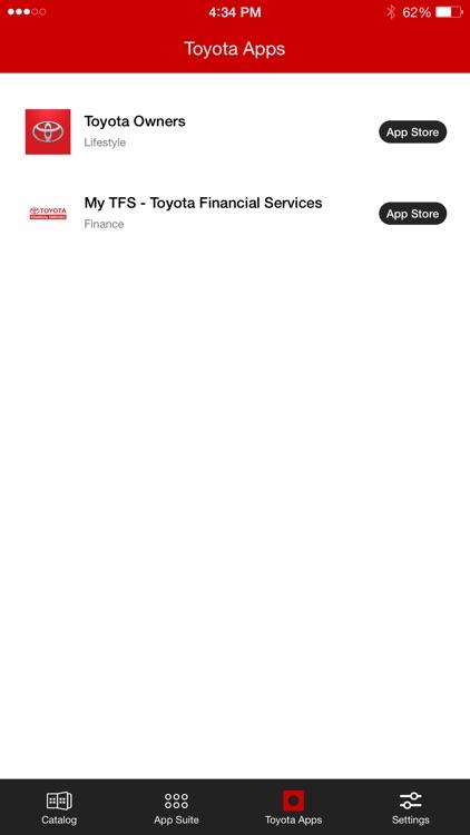 Toyota Entune™ 3.0 App Suite screenshot-3