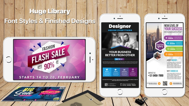 Design & Flyer Creator Pro screenshot-0