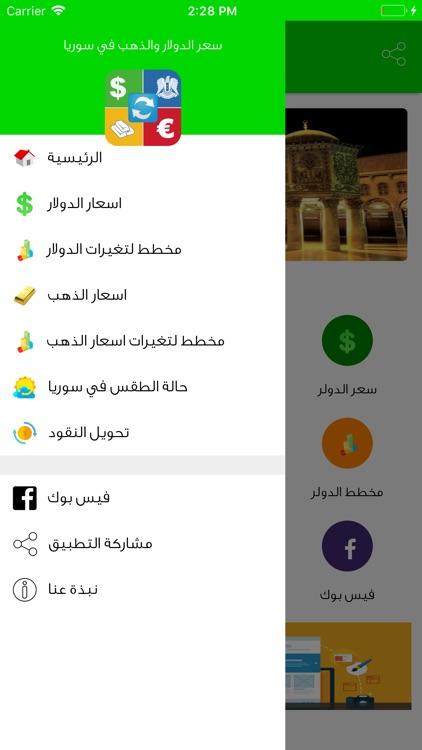 سعر الدولار و الذهب في سوريا