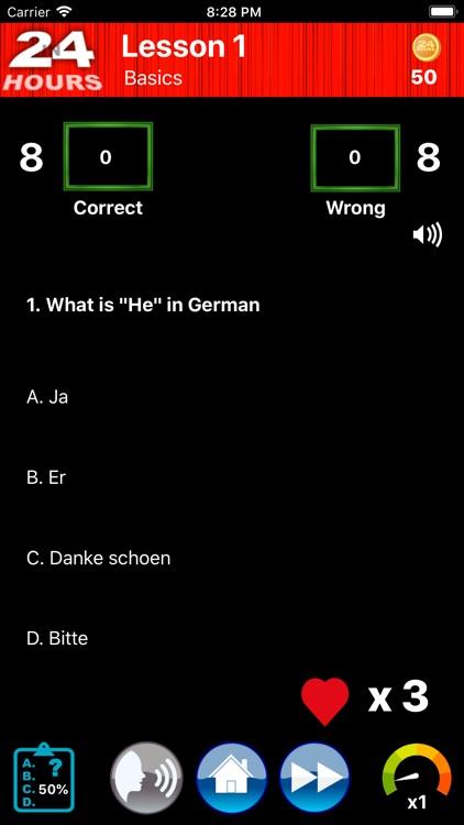 In 24 Hours Learn German screenshot-3