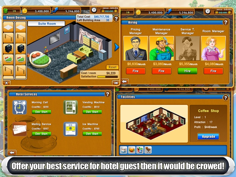 Hotel Tycoon2 HD screenshot-4