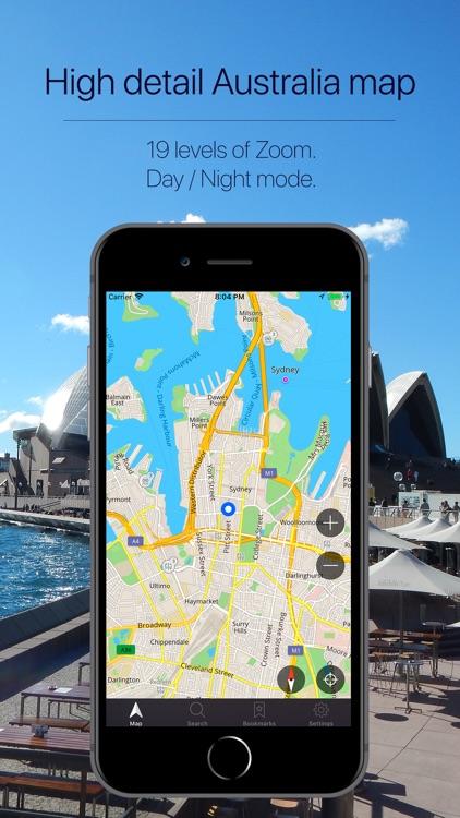 Australia Offline Navigation