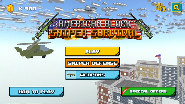 American Block Sniper Survival screenshot-4