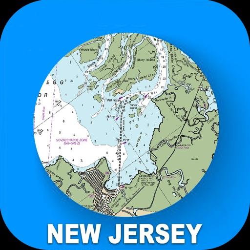 New Jersey USA Nautical Charts