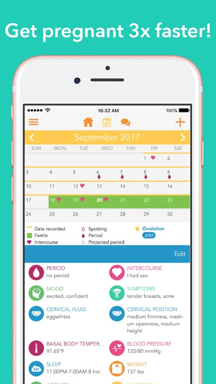 Ovia Fertility Period Tracker By Ovuline Inc