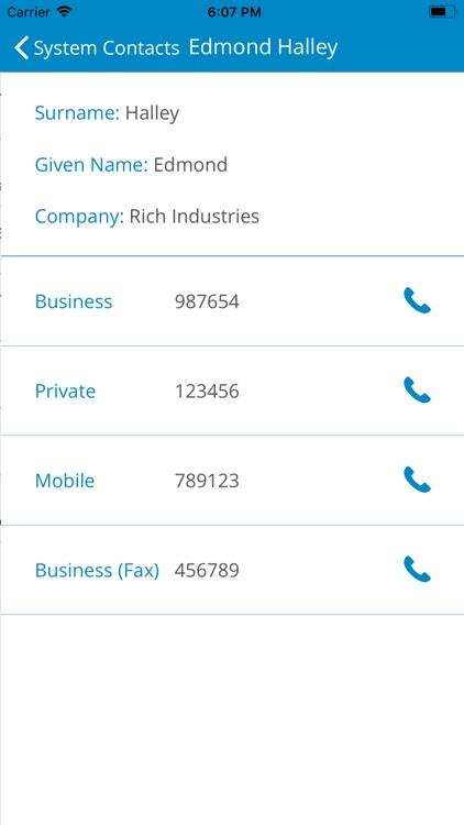 COMfortel Mobile Business screenshot-5