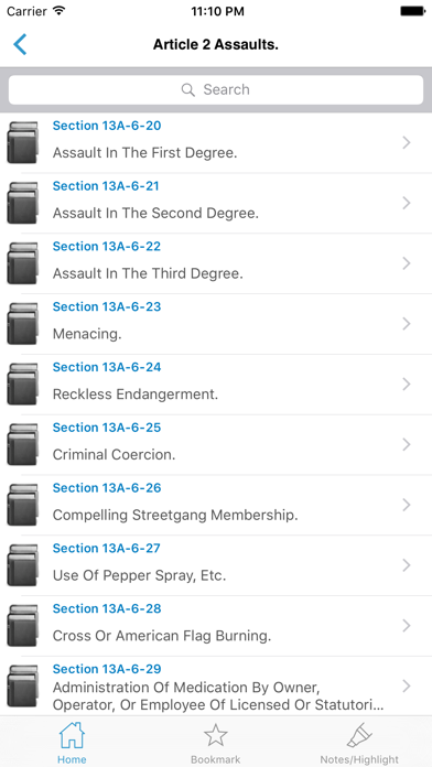 California Laws  (CA Code) screenshot four