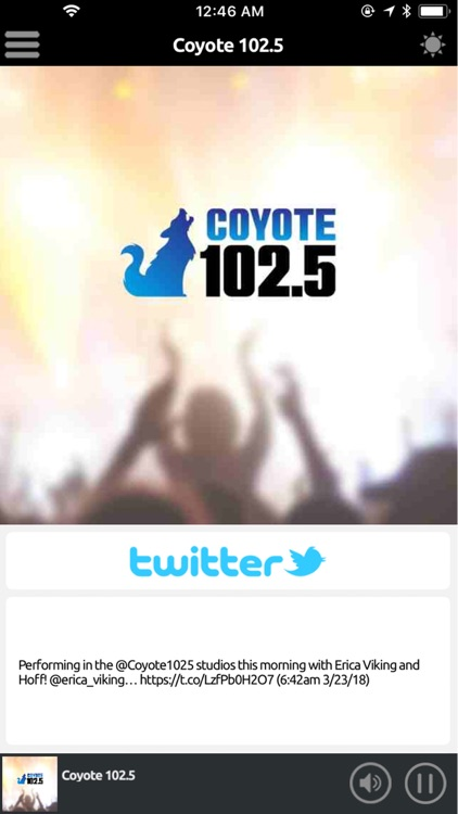 Coyote 102.5 screenshot-2