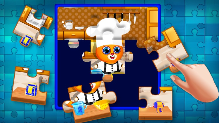 Jigsaw Puzzle Educational Game