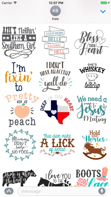 Southern Sayings USA Emoji
