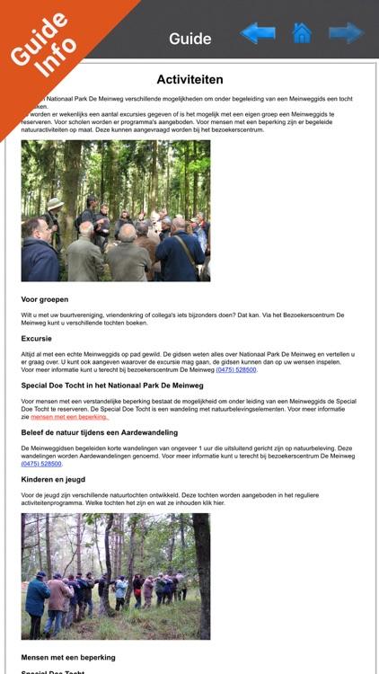 Meinweg National Park GPS and outdoor map screenshot-3