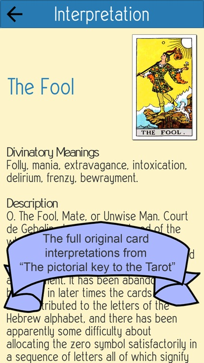 My Tarot Deck screenshot-2