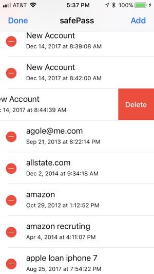 safePass Screenshot
