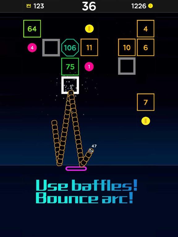 Snake Bricks-Bounce Balls screenshot 14