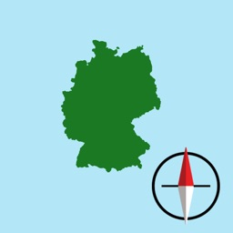 German Grid Ref Compass