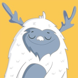 Funny Yeti - Winter Snowman
