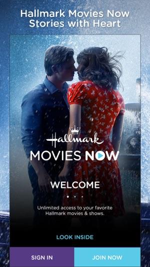Hallmark Movies Now on the App Store