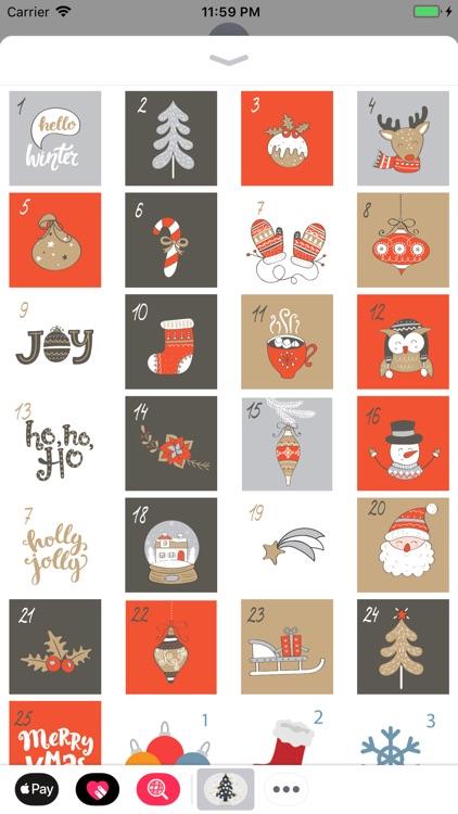 Advent Calendar - Stickers