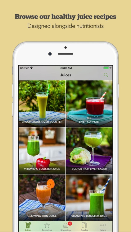 Juice Challenge by Young & Raw screenshot-1