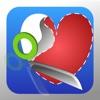 ShapeClipper - 写真をいろいろな形に切り抜き - iPadアプリ