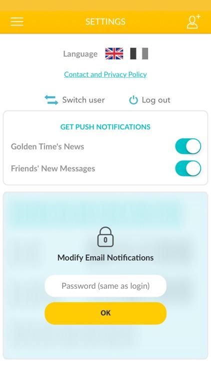 Golden Time - Share Favorites screenshot-4