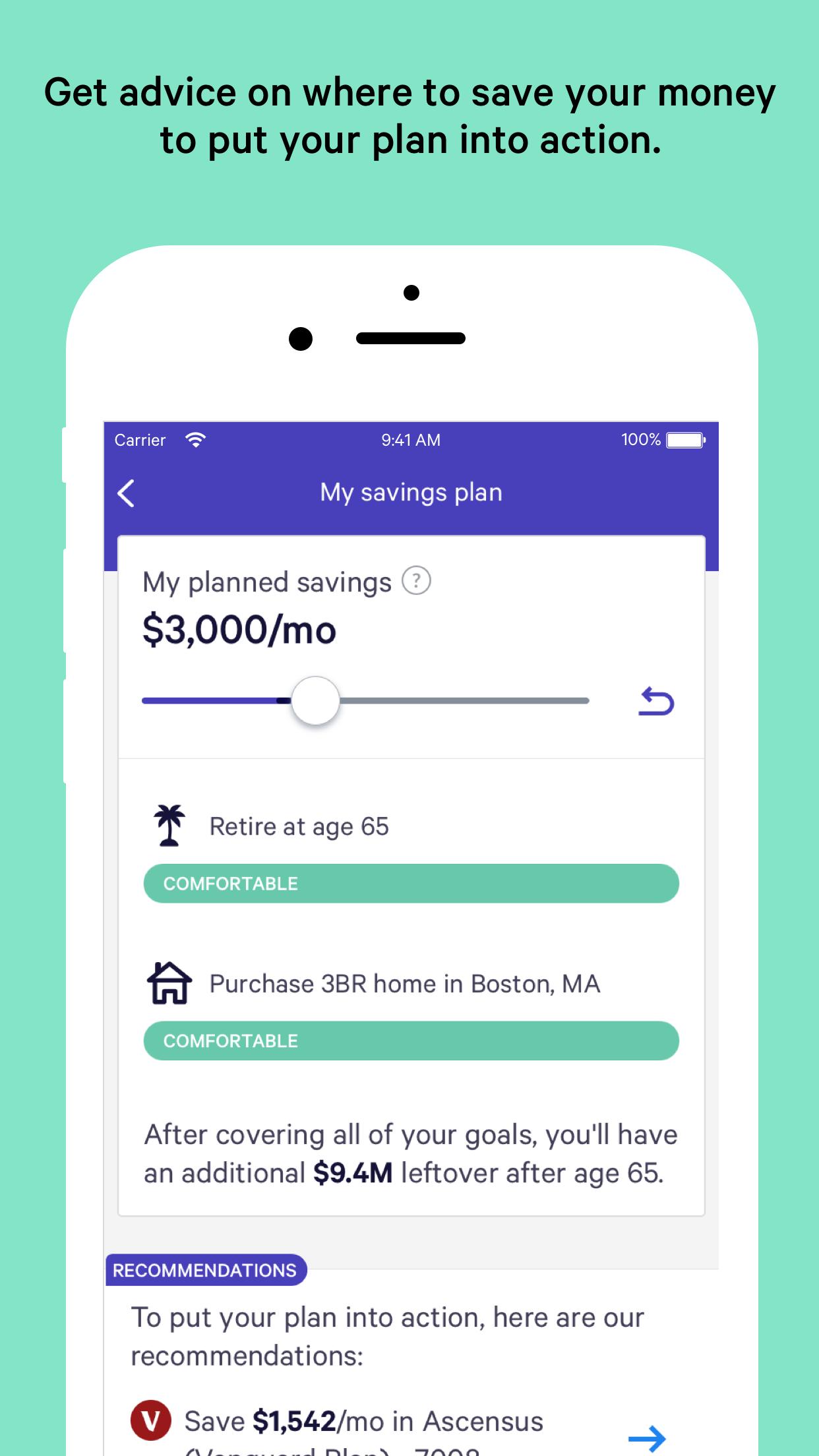 Wealthfront Screenshot