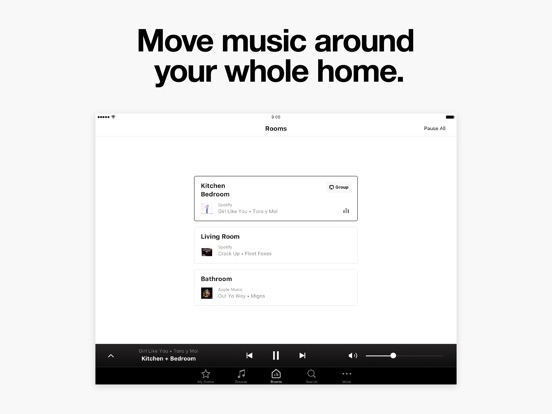 Sonos Controller iPad
