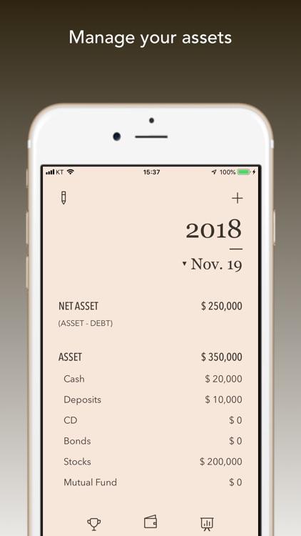 My Asset - Rich Planner